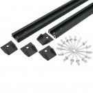 Rails adaptables RHINO RACK 110 cm - La paire