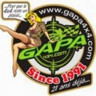 Sticker Gapa4x4