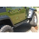 Protections latérales rock sliders wrangler JK châssis long
