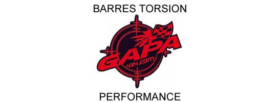 BARRES DE TORSION PERFORMANCE