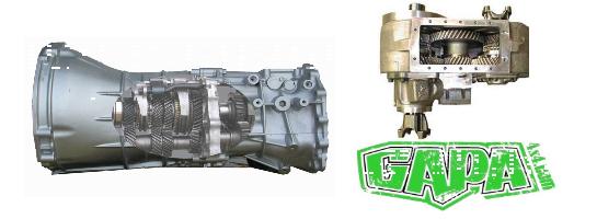 Boîte de vitesse Toyota Pzj75 et Hzj75