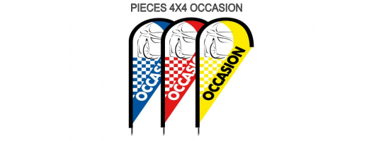 PIECES 4X4 OCCASION
