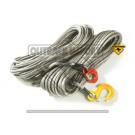 Câble synthétique MARLOW Dyna 38m/12mm + crochet compétition