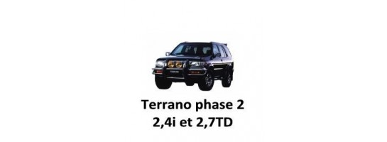 TERRANO II 2.4i et 2.7TD