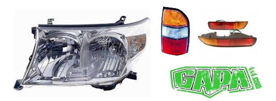Eclairage Nissan Patrol GR TD6